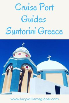 Cruise Port Guides: Santorini Greece - Santorini is a Greek Island and can be on a Mediterranean cruise. Here is what to see on this cruise port Greece Cruise, Cruise Europe, Cruise Port, Cruise Travel, Cruise Vacation, Cruise Packing Tips, Disney Cruise Tips, Santorini Island