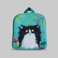 Excited to share the latest addition to my #etsy shop: Rybka - Small Backpack 2-3 Years, Kids Backpack, Toddler Bag, Preschool Kids, Playgroup bag, Persian Cat http://etsy.me/2CtM4KM #bagsandpurses #backpack #green #kids #toddlerbag #preschoolkids #playgroupbag #gift #