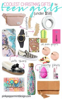 Coolest Christmas Gifts for Teen Girls. Buying gifts for the teen or tween girl on your list just got a lot easier with this helpful gift guide. Find the best Christmas gifts for teens right here. Christmas Gifts For Teen Girls, Cool Gifts For Teens, Teenage Girl Gifts, Birthday Gifts For Teens, Christmas Fun, Christmas Shopping, Birthday Ideas, Teenage Girl Birthday, Gifts For Little Girls