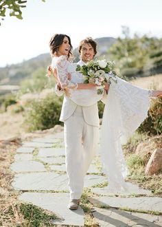 Les photos PARFAITES du mariage de Nikki Reed et Ian Somerhalder | HollywoodPQ.com