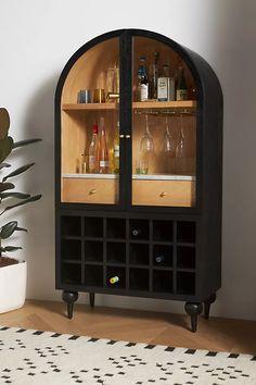 Fern Bar Cabinet | Anthropologie Dining Room Bar, Dining Room Furniture, Furniture Making, Furniture Decor, Kitchen Dining, Refurbished Furniture, Upcycled Furniture, Unique Furniture, Furniture Design