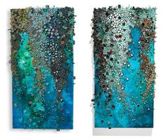 Amy Eisenfeld Genser   Compelling Views from Above | inspiration (Paint + Quilling Mosaic)