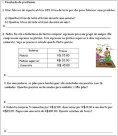 ATIVIDADES PARA APOIO PEDAGÓGICO: 2010 Education, Writing Activities, Reading Activities, Geography Test, Fifth Grade, Math Lessons, Educational Illustrations, Learning, Studying