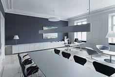 Russel Reynolds – kontormiljø – konferencebord –overflade – Desktop  – Furniture Linoleum – Forbo – interior design