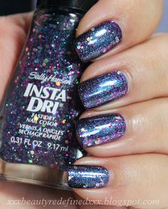Sally Hansen Insta-Dri Grape Shifter