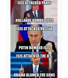 It makes perfect sense since Obama   Administration FUNDED them. What you didn't know the CIA has been used for years to arm both sides of wars through out the world?