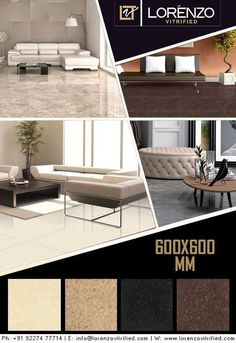 Double-Charge or Double Loaded Tiles with Nano polished finish in Light #Colours.  #Neptune Nano Polished Series - Millennium Tiles 600x600mm (24x24) Vitrified Double Charged Porcelain Tiles - Nano Polished Vitrified Tiles: If we apply a layer of liquid silica on vitrified tiles then it fills the micro (Nano) pores on the tiles surface and makes it smoother in feel. This type of #tiles is called #Nano polished #vitrified tiles.