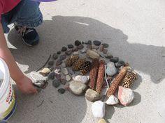 Twelve Crafts Till Christmas: sunday kids' craft: taking it outdoors