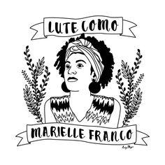 Lute Como Marielle Franco #mariellefranco #lutecomomarielle Black Power Desenho, Hamsa Art, Power To The People, Feminist Art, Girls Rules, Arte Pop, Wall Collage, Girl Power, Aesthetic Wallpapers