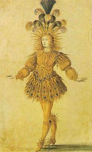 "King Louis XIV of France was an enthusiastic dancer and had a great influence on the development of a new form of dance. He was known as ""The Sun King"" because of a ballet role he performed at the age of 14, where he represented the rising sun. During Louis' reign, two kinds of dance developed: social dances for the ballroom and theatrical dances for court entertainments."
