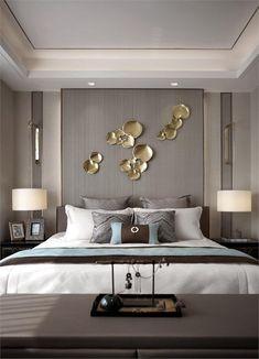 extraordinary bedroom design ideas for comfortable home decor 38 « Home Design Interior, Bedroom Interior, Bedroom Hotel, Luxurious Bedrooms, Home Decor, Modern Bedroom, Bedroom Colors, Bedroom Layouts, Trendy Bedroom