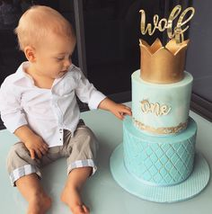 When Wolf celebrated his first birthday in style. | 23 Times Instagram Sensation Tammy Hembrow's Family Were Goals