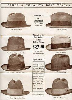 1920s fashion hats men 83