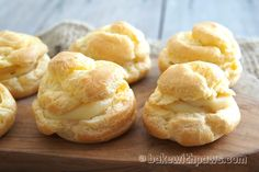 Cream Puffs with Sweet Corn Custard Filling! During a Chinese New Year family dinner this year when I was back in Penang, my sister made us cream puffs for dessert. I loved it so much I asked her for… Continue Reading →