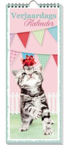 Verjaardagskalender kat of een andere verjaardagskalender met katten