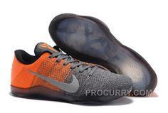 "c8ee9bfe99dc9c Nike Kobe 11 Elite Low ""Easter"" Grey Orange For Sale Online Discount"