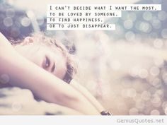 i want to disappear for awhile - Google Search