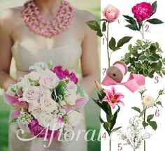 Pink   Afloral.com Wedding Blog