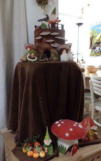 Poppenatelier Barbara: Herfst op mijn atelier