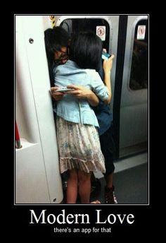 Modern Love Motivational Poster