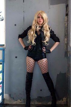 Black Canary cosplay