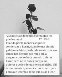 Get in touch with Adolescentes Suicidas. Ask anything you want to learn about Adolescentes Suicidas. Sad Quotes, Love Quotes, Inspirational Quotes, Quotes En Espanol, Sad Life, More Than Words, Spanish Quotes, Deep Thoughts, Wise Words