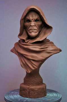Cursed Majestic Bust sculpt Monster Clay by AntWatkins.deviantart.com on @deviantART