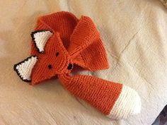 Free Crochet Pattern Fox Scarf : Fox Scarf on Pinterest Fox Bag, Crochet Fall Decor and ...