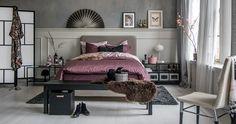 Ikea slaapkamer in hotelsfeer, met boxspring