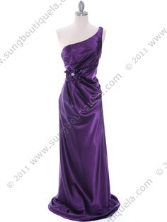 Purple Evening Dress. Style #: 5234. Get yours today at www.SungBoutiqueLA.com