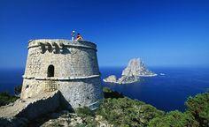 Secret side to Party Island...aka Ibiza ... Es Vedra, Ibiza, Balearic Islands, Spain