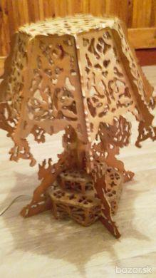 Drevene lampy/dekoracie - rucna praca