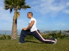 """""""Lunge with a purpose. Do it like you mean it."""" Motivation. (Fitness Trainer and Model: Gregory Capra)"""