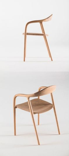 Neva Chair:   -  Classic designs can be the longest running. The simple contours of this wooden chair can befriend any interior.