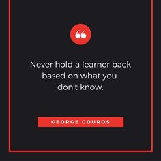 Never Hold a Learner Back Based on What You Don't Know