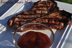 ~Homemade Steak Sauce~ The perfect accompaniment to your favorite steak hot off the grill, this sauce hits all the right flavor notes.