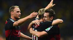 Copa Mundial de la FIFA Brasil 2014: Brazil-Germany - Estadísticas - FIFA.com
