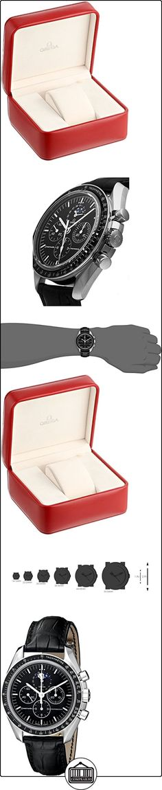 Omega 3876.50.31 - Reloj para hombres, correa de cuero  ✿ Relojes para hombre - (Lujo) ✿