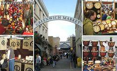 Greenwich Market, Greenwich, London, UK
