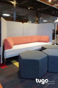 Muebles que hace de sus espacios ambientes que inspiran. Sofa, Couch, Furniture, Ideas, Home Decor, Environment, Spaces, Architects, Blue Prints