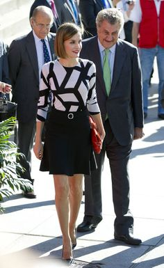 Is Queen Letizia Dressing Too Sexy for a Respectable Royal? You Decide