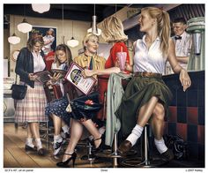 Paul Kelley's sensual art has a romantic appeal, from his figurative painting, fashion artwork, and nude art prints, to his dance artwork and Nova Scotia art. Female Images, Female Art, Paul Kelly, Creation Photo, Fashion Artwork, Art For Art Sake, Canadian Artists, Red Blouses, Pin Up