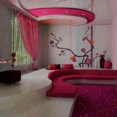 SOO SWEET SPACESHIP ROOM FOR GIRLS                           NEED THIS!!!!!!!!