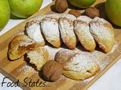 Greek Desserts, Greek Recipes, Fun Desserts, Dessert Recipes, Apple Deserts, Sweets Cake, Bakery Recipes, Pastry Cake, Apple Recipes