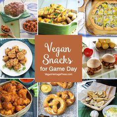 Vegan Snacks for Game Day