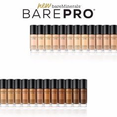 Introducing bareMinerals' first-ever 24-hour liquid foundation. Full coverage in 30 shades. Find your perfect match.