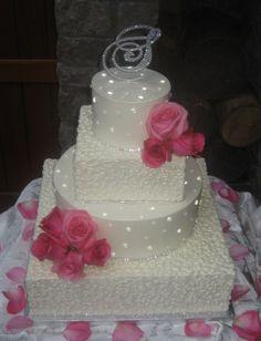Edible Rhinestone Cake Banding