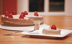 """Dairy-free, Grain-free, and refined sugar free. This super creamy, nut-based """"cheesecake"""" will fool anyone."""
