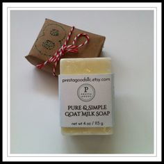 """Sage says, """"On the 8th day of Christmas, my Santa gave to me… goat milk soap. Those maids a-milking have been busy."""""""