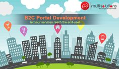 We offer complete robust B2C Portal Development services to suits your business.